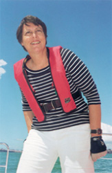 Suzanne Bourke - Sailing Instructor